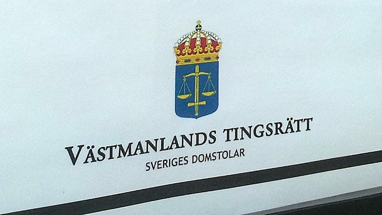 Västmanlands tingsrätt / Foto: Kristin Axinge Jaslin SR