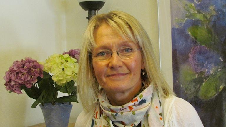 Ingrid Edman Vårdförbundet. Foto: Inga Korsbäck/Sveriges radio.