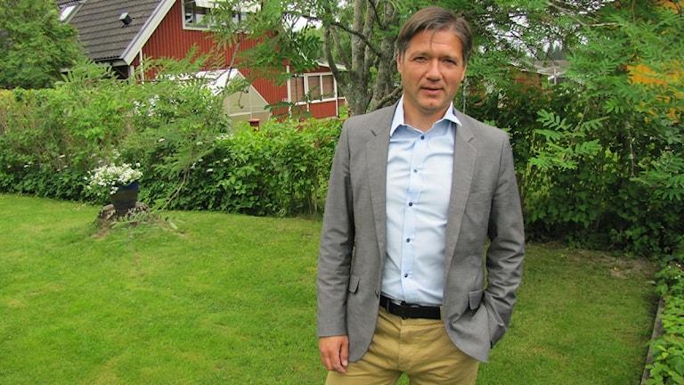 Kenneth Östberg (S) regionråd. Foto: Marcus Carlsson/SR.