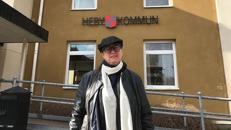 Carina Schön (S), idag oppositionsråd i Heby.