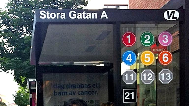 En av de nya busskurerna i Västerås / Foto: Mattias Rensmo SR