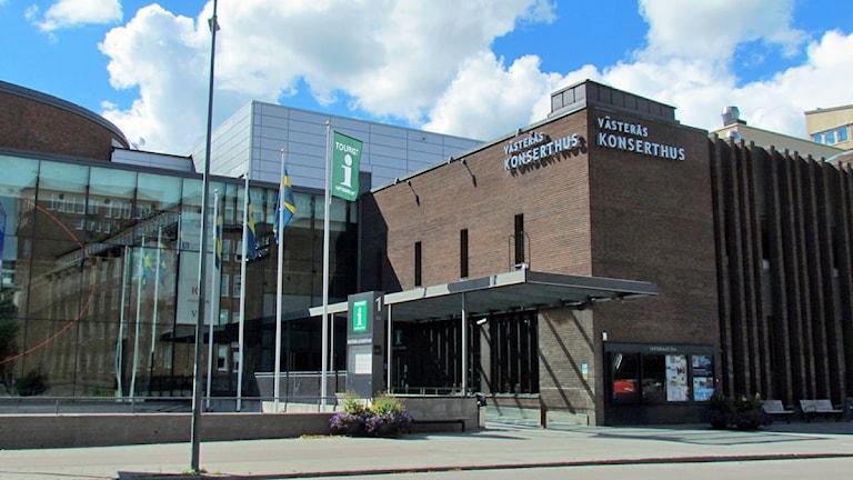 Västerås konserthus. Foto: Eva Kleppe/Sveriges Radio