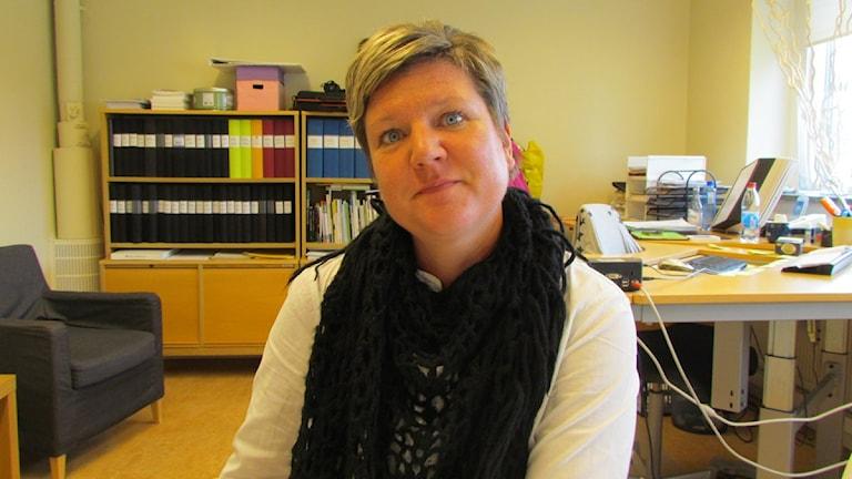 Ylva Åkerberg, rektor Klockarbergsskolan