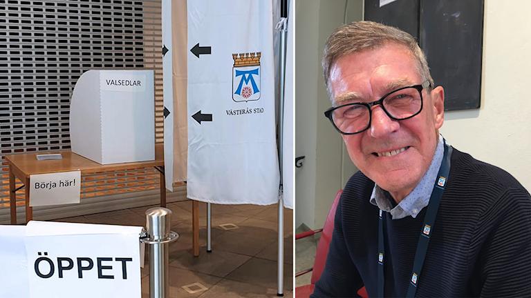 Valnämndens ordförande i Västerås, Bengt Wallén