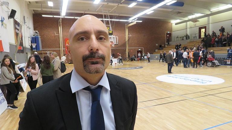Köping Stars coach Jotti Nikolaidis