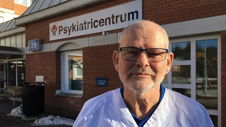 Lars Westerström, överläkare på barn- och ungdomspsykiatrin i Region Västmanland.