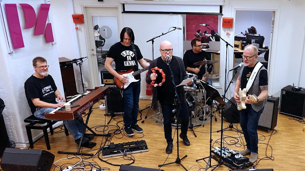 Hultman & friends på Radioscenen.