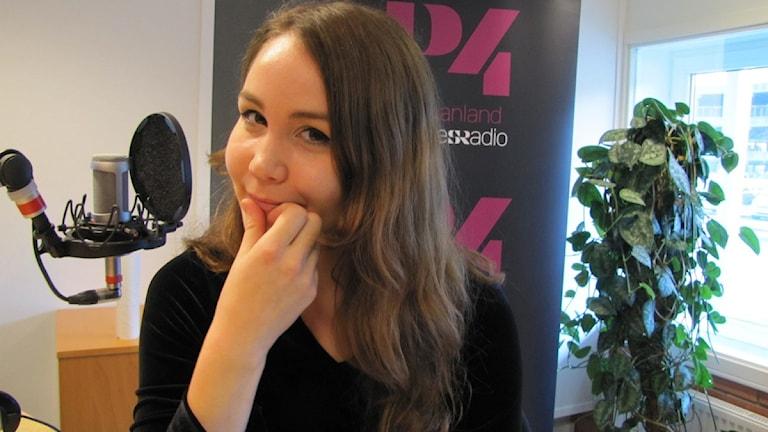 Julia Vero. Foto: Martin Vare/Sveriges Radio