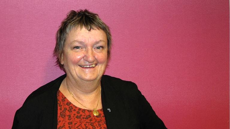 Ragnhild Källberg, gruppledare Folkpartiet i Västerås. Foto: Mattias Forsberg / Sveriges Radio
