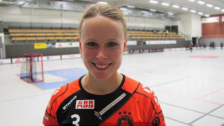 Sanna Scheer Rönnby IBK. Foto: Hans Sjöström / SR