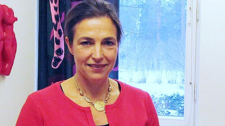 Anna Hammarström vd för Mitt Hjärta / Foto: Marcus Carlsson SR