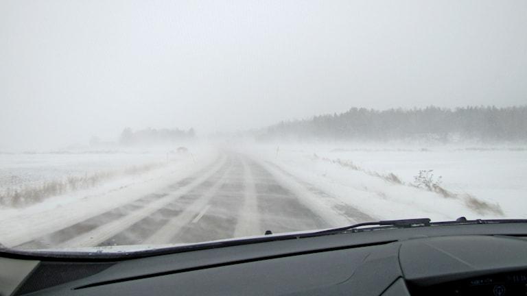 Snödrev Västmanland