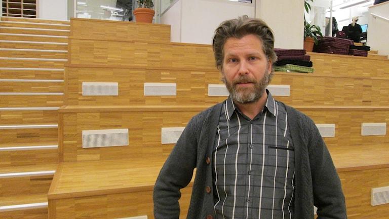 Miljöpartisten Magnus Edström, som är ordförande i byggnadsnämnden