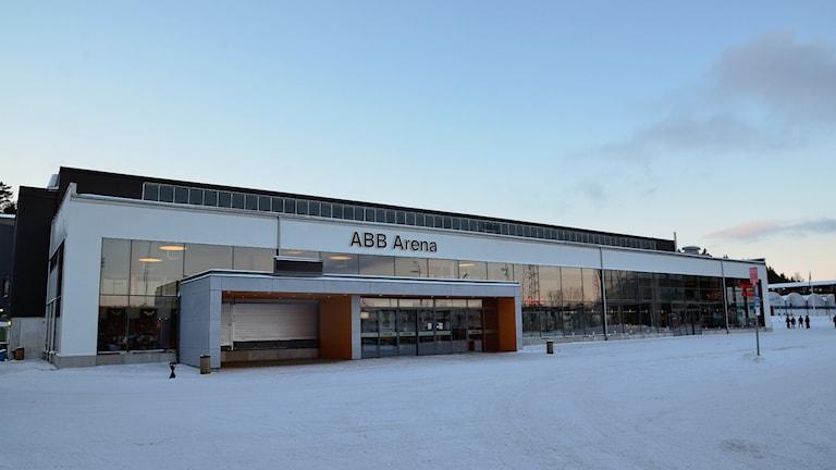 ABB Arena nord där Västerås IK spelar sina hemmamatcher. Foto: Mattias Forsberg/SR