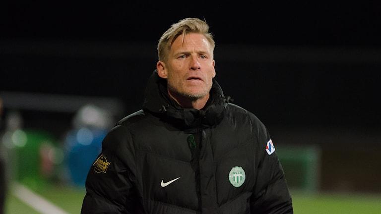 VSK Fotbolls manager Johan Mjällby
