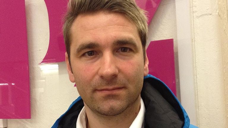 Tobias Bössfall, P4 Västmanlands hockeyexpert