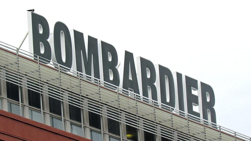 Bombardier i Västerås / Foto: Patrik Åström SR