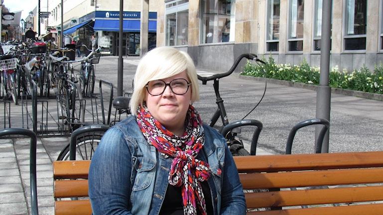 Kristiina Koistila, skyddsombud för akademikerförbundet SSR på socialkontor barn och ungdom i Västerås.
