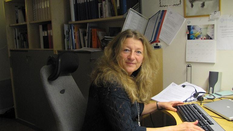 Janí Stjernström. Foto: Inga Korsbäck/Sveriges Radio.