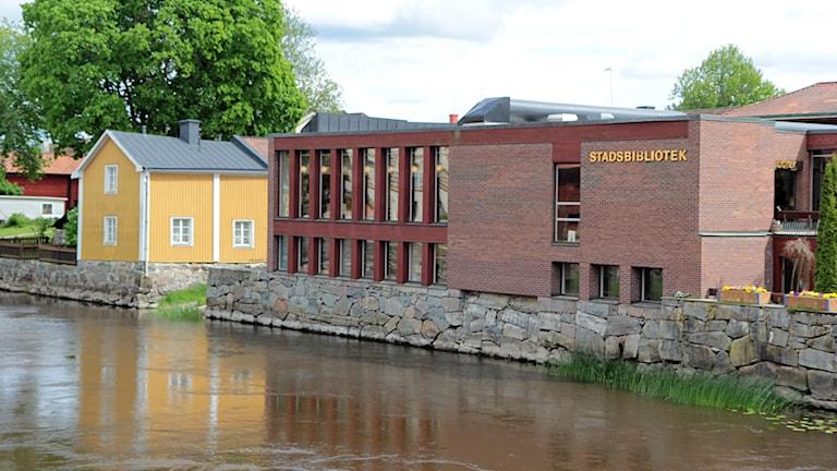 Stadsbiblioteket i Arboga 2014 / Foto: Michael Gawell / Sveriges Radio