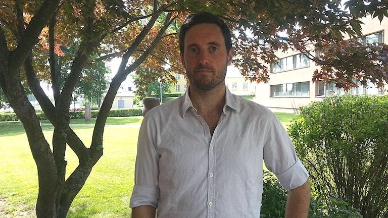 Daniel Mallwitz är vilthandläggare på länsstyrelsen i Västmanland. Foto: Elza Zandi/Sveriges Radio