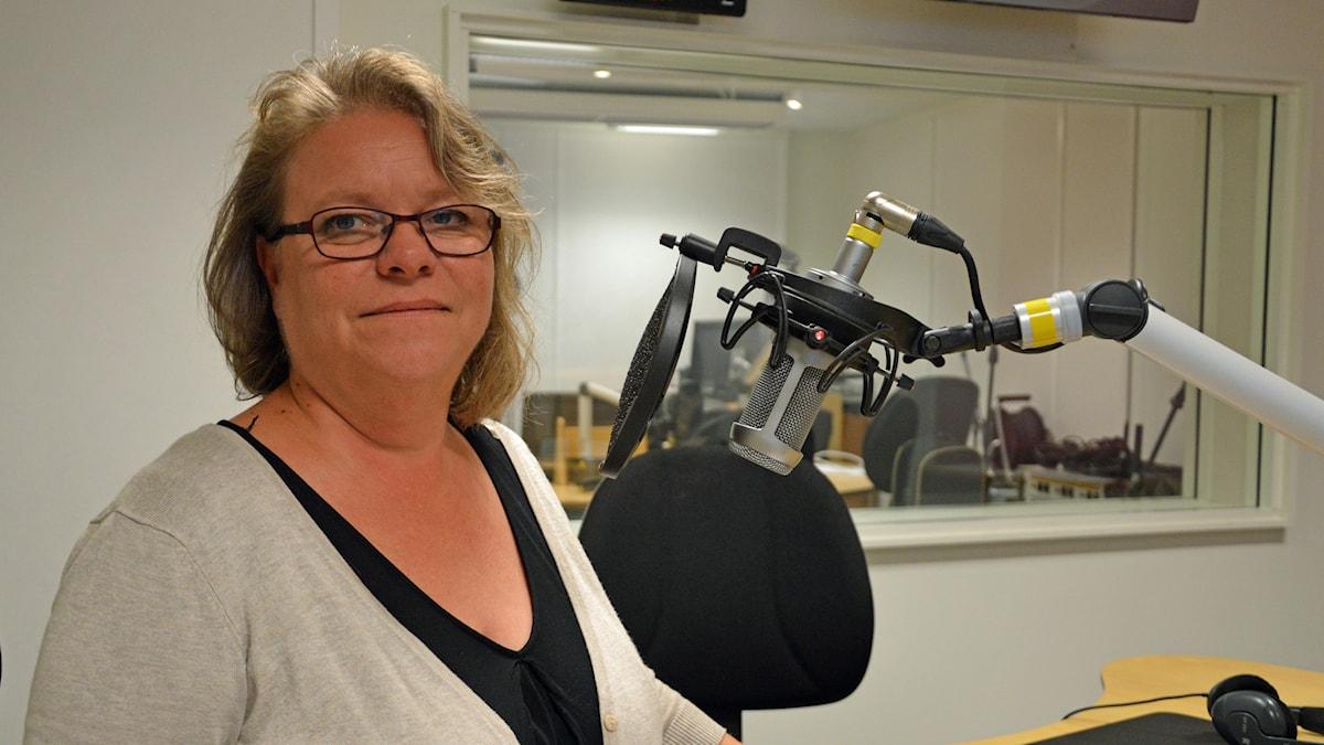 Denise Norström (S). Foto: Eva Kleppe/Sveriges Radio.
