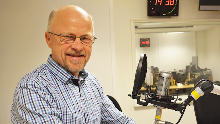 Stig Henriksson (V). Foto: Eva Kleppe/Sveriges Radio.
