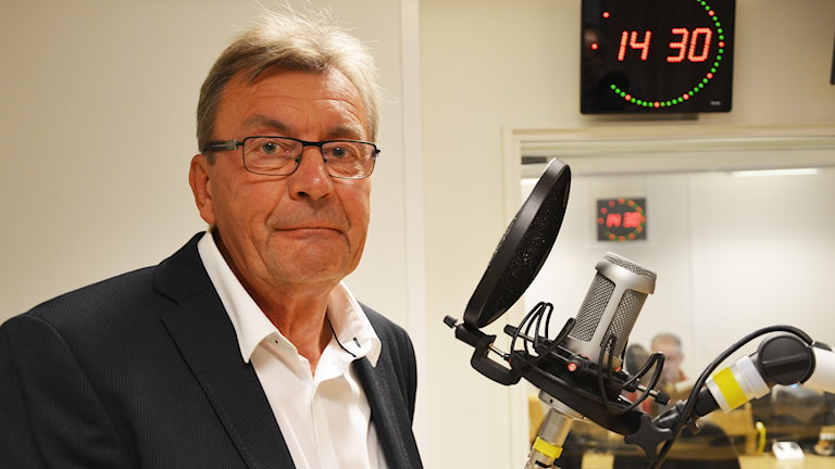 Peter Molin (M). Foto: Eva Kleppe/Sveriges Radio.