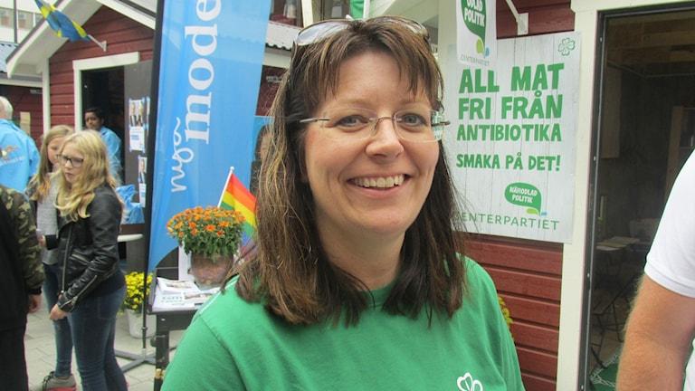 Vicki Skure Eriksson. Foto: Terje Lund/Sveriges Radio