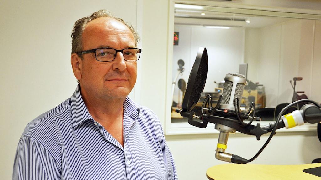 Anders Röhfors (M). Foto: Eva Kleppe/Sveriges Radio.