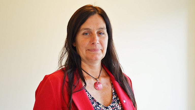 Catarina Pettersson (S), Hallstahammar. Foto: Eva Kleppe/Sveriges Radio.