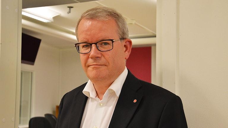 Anders Teljebäck (S), Västerås. Foto: Eva Kleppe/Sveriges Radio.