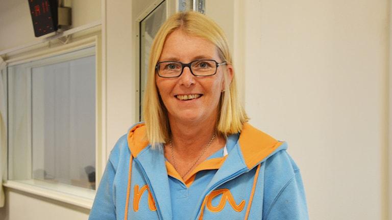 Elisabeth Unell (M), Västerås. Foto: Eva Kleppe/Sveriges Radio.