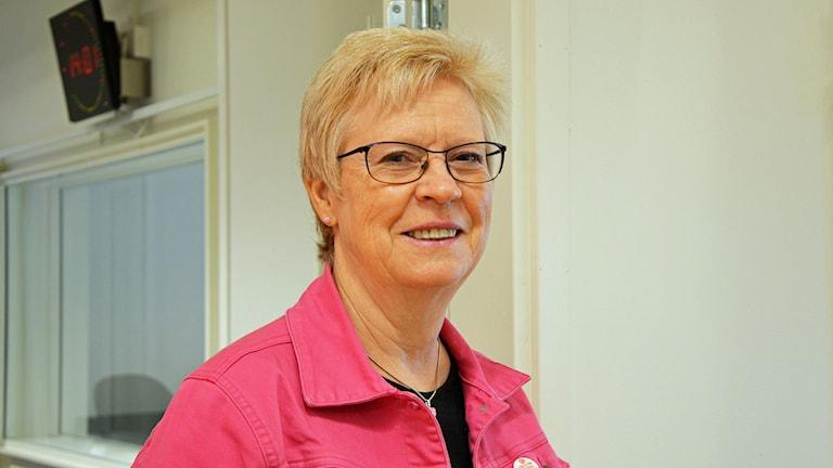 Elizabeth Salomonsson (S), Köping. Foto: Eva Kleppe/Sveriges Radio.