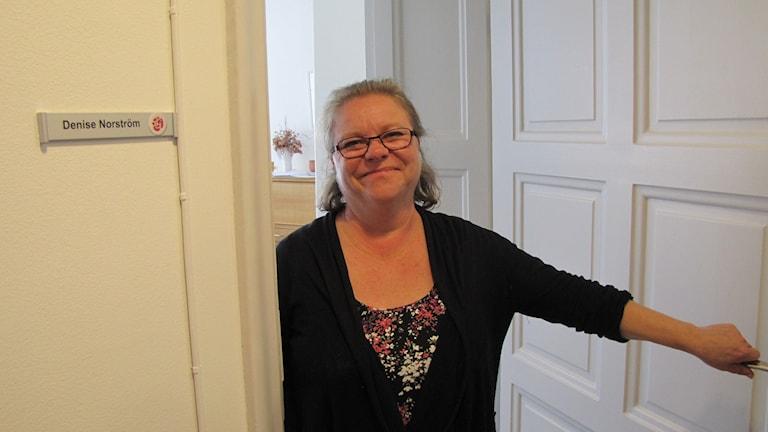 Denise Norström. Foto: Inga Korsbäck/Sveriges Radio.