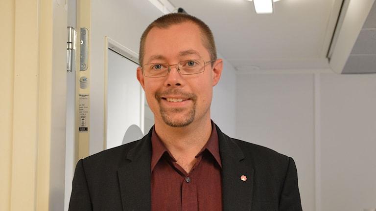 Tobias Nordlander (S), Surahammar. Foto: Eva Kleppe/Sveriges Radio.