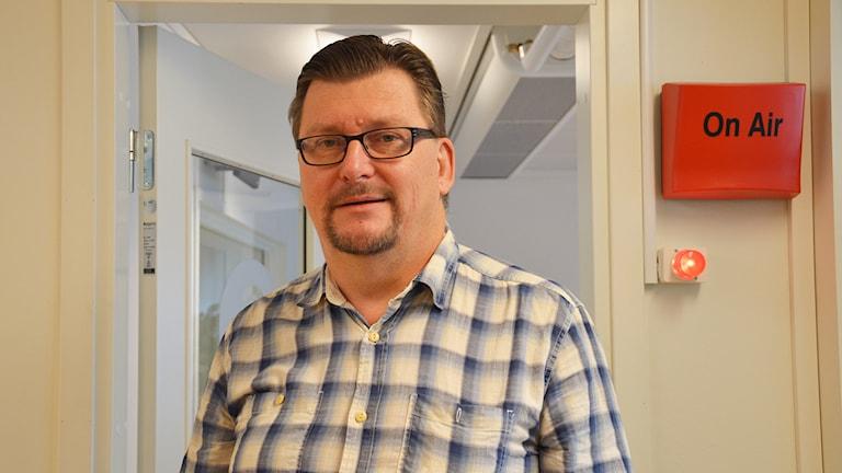 Pelle Strengbom (S), Kungsör. Foto: Eva Kleppe/Sveriges Radio.