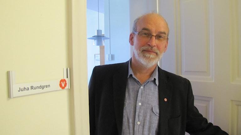 Juha rundgren (V). Foto Inga Korsbäck/Sveriges Radio.