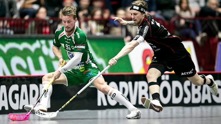 Rasmus Enström till höger. Foto: Andreas Hillergren/SCANPIX