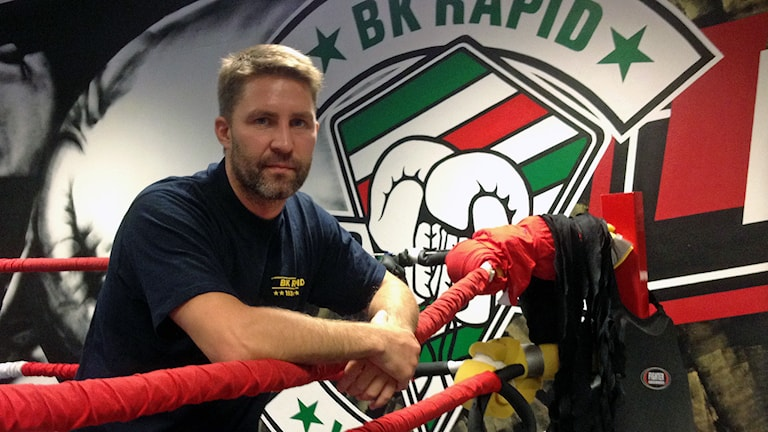 Alex Wennersten tränare BK Rapid boxning