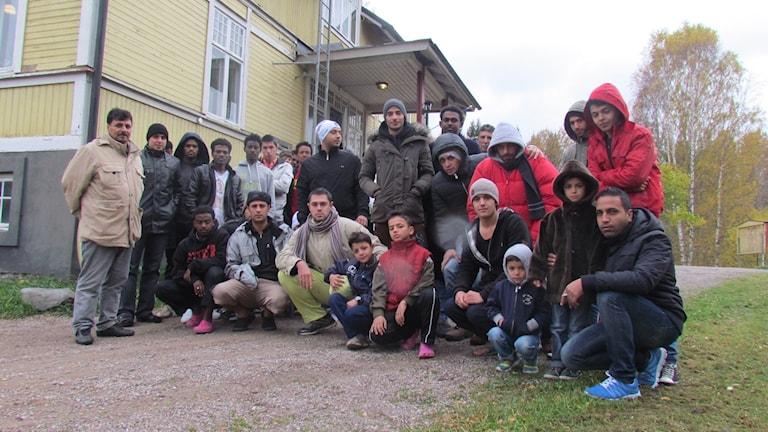 Boende på Flikens asylboende. Foto: Audrey Erath/Sveriges Radio