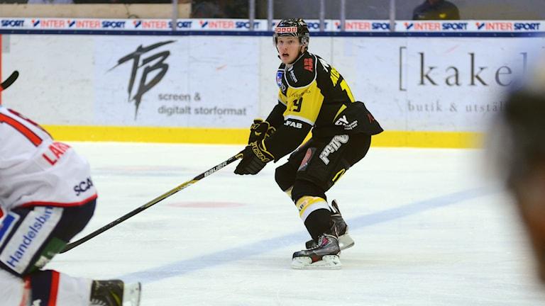 VIK Hockeys Erik Andersson. Foto: Mattias Forsberg/Sveriges Radio