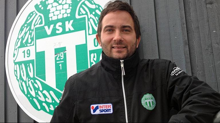 Michael Campese, klubbchef VSK Bandy. Foto. Johan Bengts/SR.
