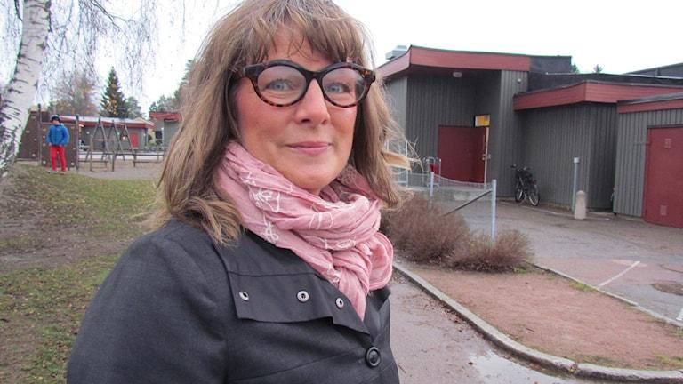 Jessica Nordin, rektor på Brandthovdaskolan