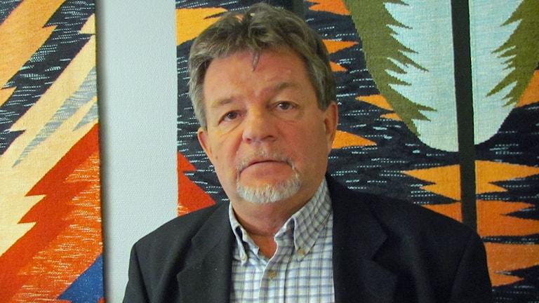 Ronald Henriksson. Foto: Emmanuel Cimana/Sveriges Radio.