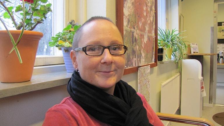 Eva Holm. Foto: Inga Korsbäck/Sveriges Radio.