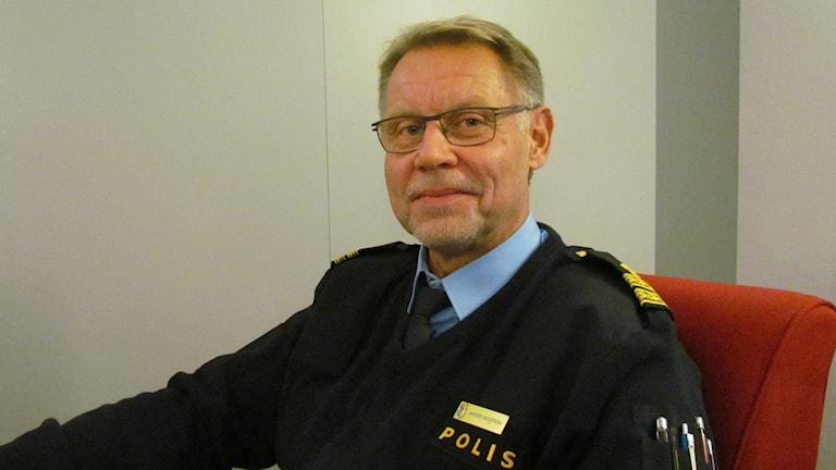 Anders Hedström - polisen / Foto: Helena Lund / SR