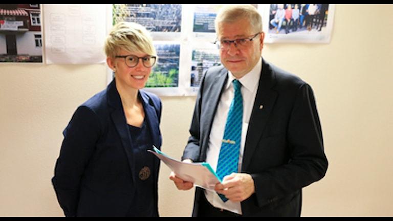 Lisa Kilestad, Ingemar Skogö. Foto: Länsstyrelsen.
