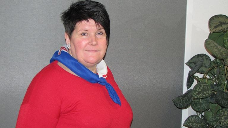 Anna Ryding, ombudsman Transportarbetarförbundet Norra Mälardalen, avd 19 i Västerås.