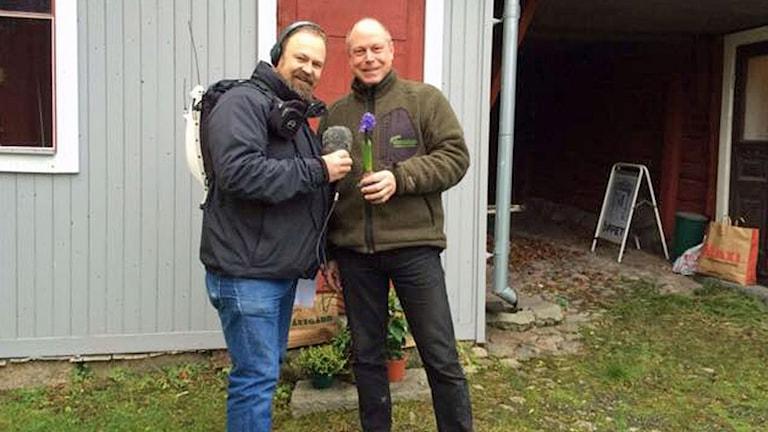 Martin Vare och Per Bürger.